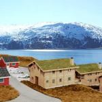 Zukünftiger Blick über die Angelanlage in Mikkelvik Brygge aufs Wasser (Abb. ähnlich)