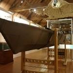 Nansens Kayak ist im Polarmuseum zu bestaunen