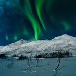 Ein Ausflug bei Schnee und Nordlicht wirkt schnell wie im Märchen
